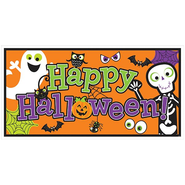 Halloween Family Friendly Large Banner