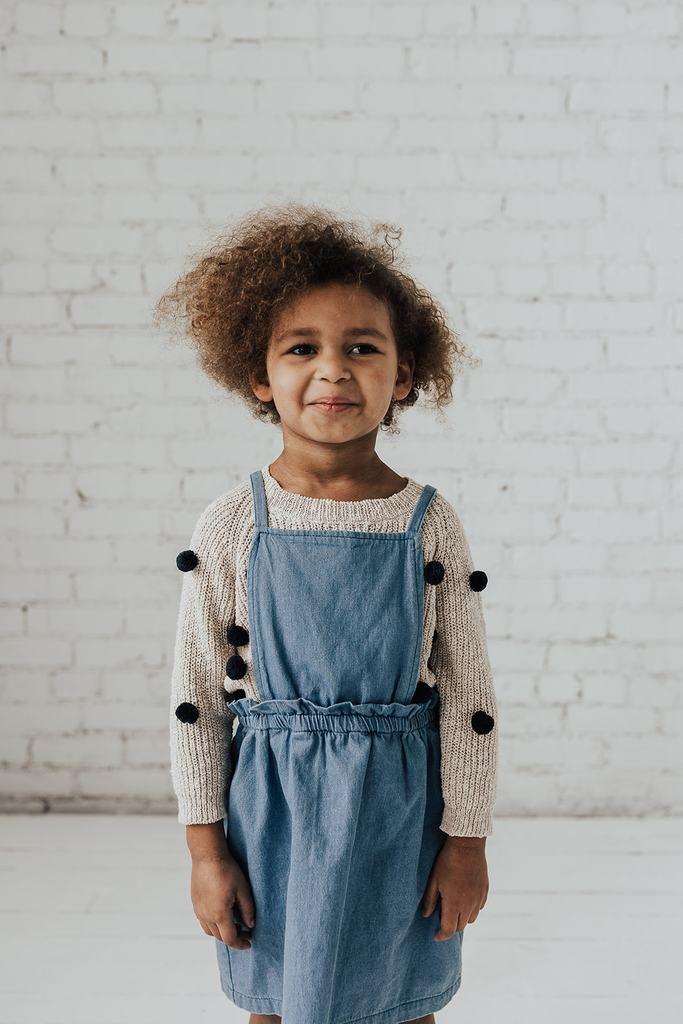 c5aca204a KIDS Denim Overall Jumper Dress | shophenly.com | Jumper dress ...