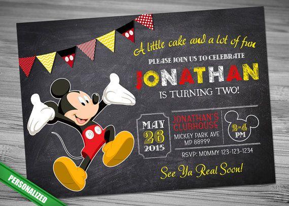 Mickey Chalk Invitation Mouse Chalk Invitation MICKEY CHALK Invitation Mickey Mouse chalk invitation Mickey Invitation