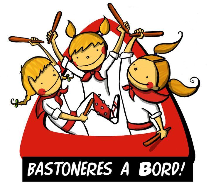 Bastoneres a bord!