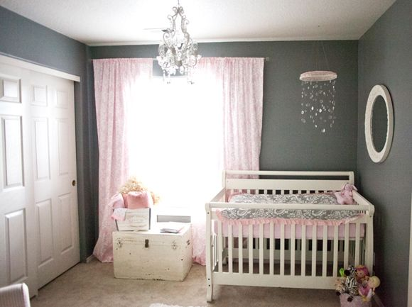 366 best Pink and grey rooms images on Pinterest | Nursery ...