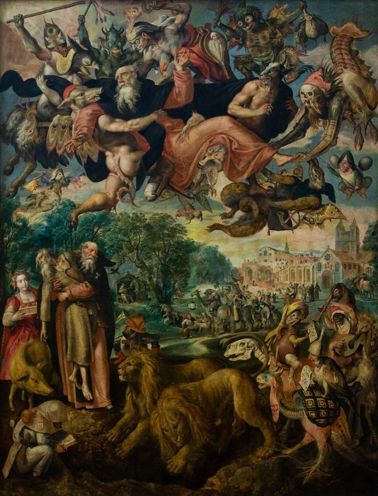 The Temptation of St. Anthony byMarten de Vos