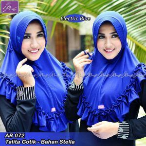 Talita Gotik Electric Blue