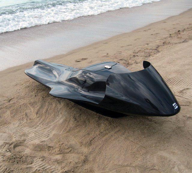EXO Carbon Fiber Jet Ski Hmmm I know someone who was talking about CF JetSki's