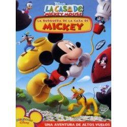 LA BUSQUEDA DE LA CASA DE MICKY … Disney, Es la primera vez que Mickey y sus amigos presentan una serie destinada al público preescolar.Se caracteriza por sus múltiples componentes interactivos que i...