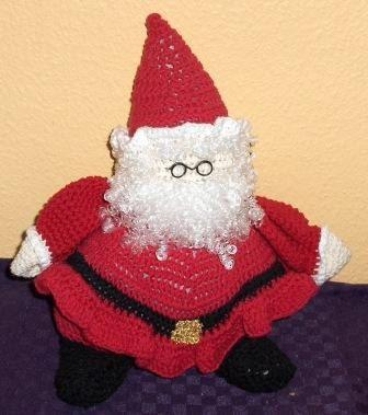 Crochet santa, handmade santa clause, christmas decor, christmas ornament , santa clause, julenisse, fat santa, Father christmas by Hildescrochetshop on Etsy