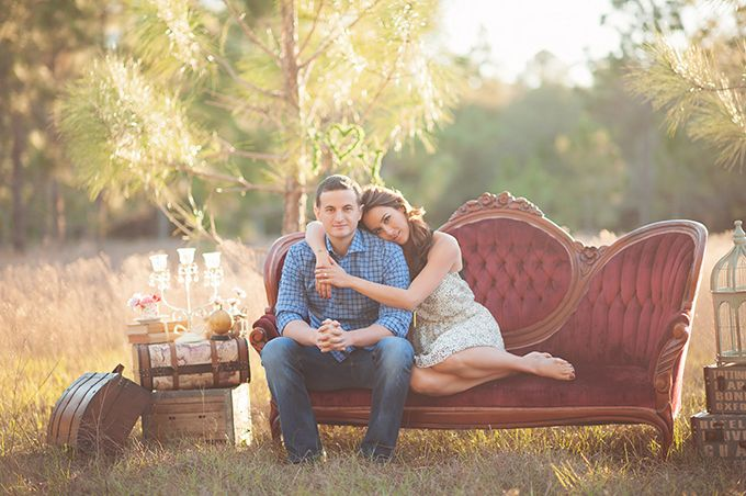 romantic vintage photo shoot