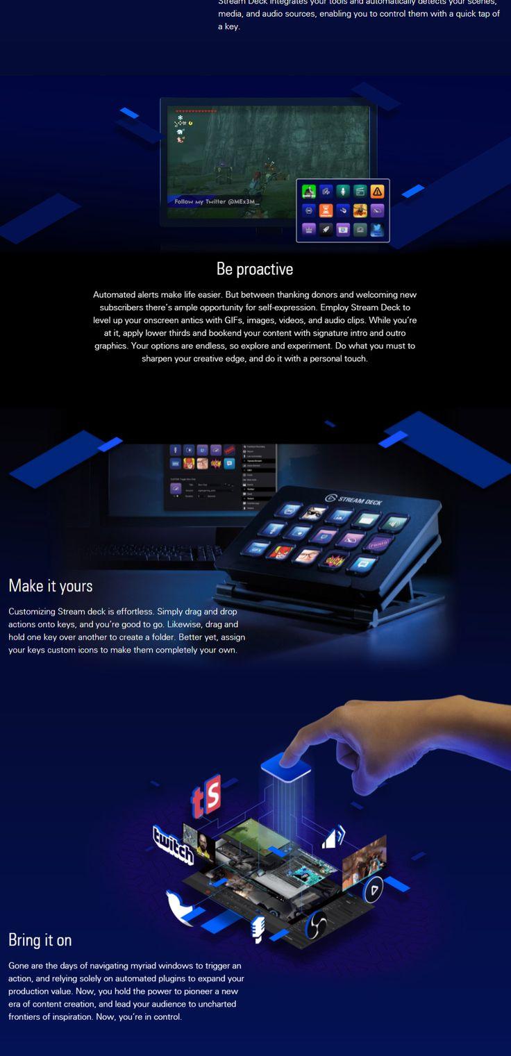 Buy Elgato Stream Deck [10GAA9901] PC Case Gear