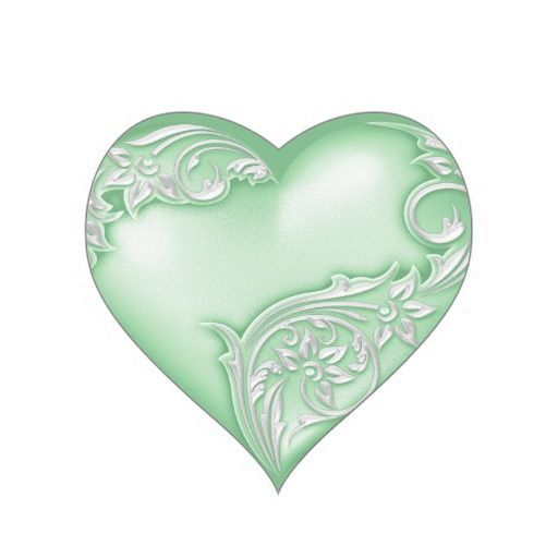 GREEN HEART | CLIP ART - HEARTS - CLIPART | Heart, Love ...