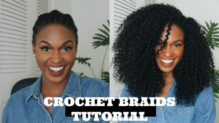 How to install Kinky Curly Crochet braids - Outre X-Pression 4 in 1 + Gi...