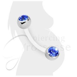Piercing Nombril Grossesse Cristal - TITOUAN