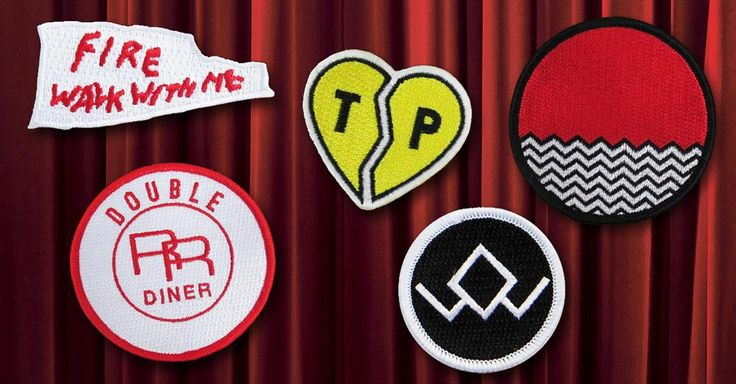 official twin peaks merchandise | New Merch Alert: Official Twin Peaks Patches