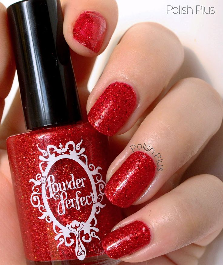 It's Beginning To Look A Lot Like Christmas by Powder Perfect (full review of this gorgeous polish on the blog)