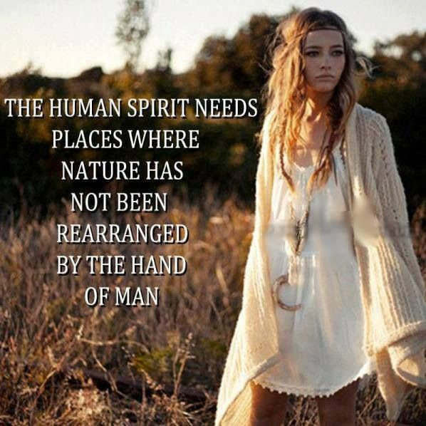 Human Spirit + Nature = Connectedness & Balance