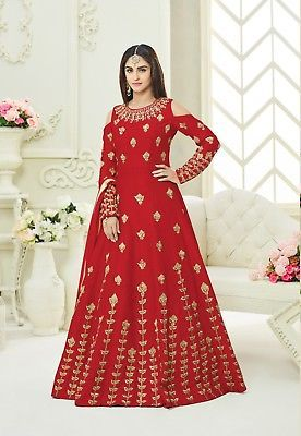 Other Womens Clothing 314: Indian Bollywood Pakistani Ethnic Suit Wedding Designer Anarkali Suit Se Us 07 -> BUY IT NOW ONLY: $67.99 on eBay!