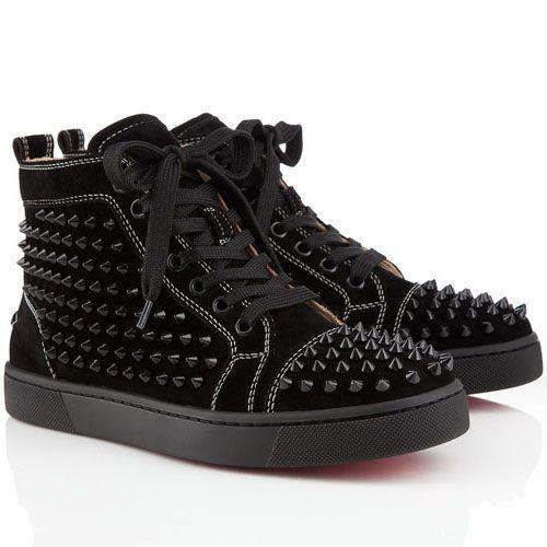 christian louboutin high sneaker
