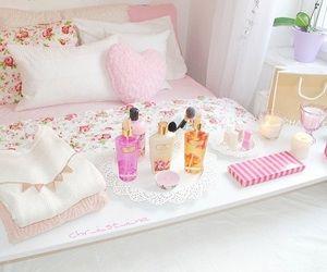 pink girly tumblr   bedroom, girly, pastel, pink, room, room decor, tumblr, tumblr room ...