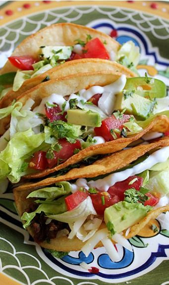 """American Style"" Ground Beef Tacos"