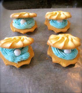 Pearl shortbread cookies