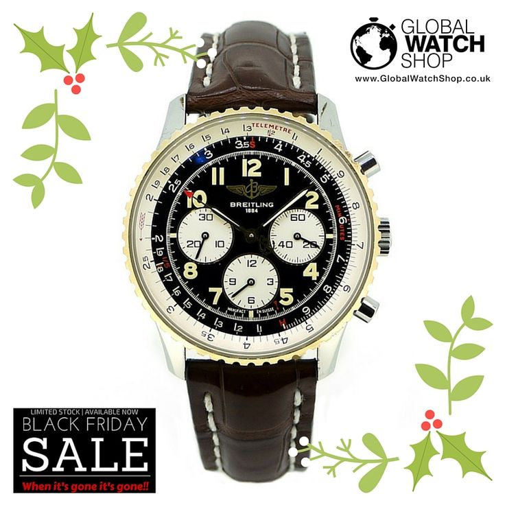 #BlackFriday Breitling Navitimer  Previous price: £2,500  Now: £1,800  More at http://www.globalwatchshop.co.uk/black-friday.html