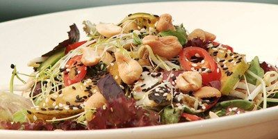 Tropical Mango and Cashew Salad |