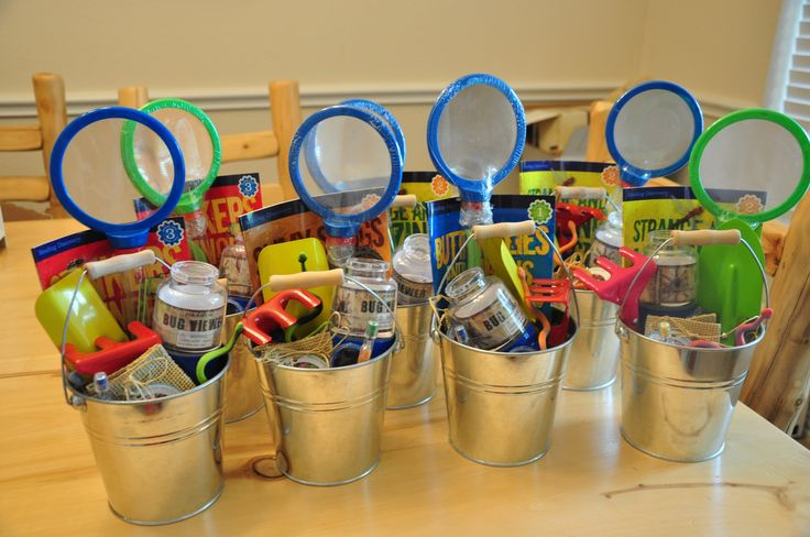 """My 6 Year Old's """"BUG Party"""" Birthday Party Favors!"""