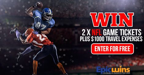 http://epicwins.us/giveaways/nfl/?lucky=19192                          Enter the Epic Wins NFL Ticket Giveaway!