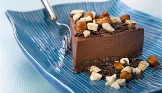 Amerikkalainen suklaa-juustokakku - Valio.mobi