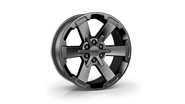 22 6 Spoke High Gloss Black Wheels Sierra 1500 Gmc Sierra 1500