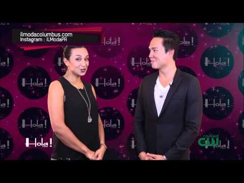 Nicki Marie Jewelry & Il Moda With Thomas McClure On Hola! TV Show | Hola! TV Show