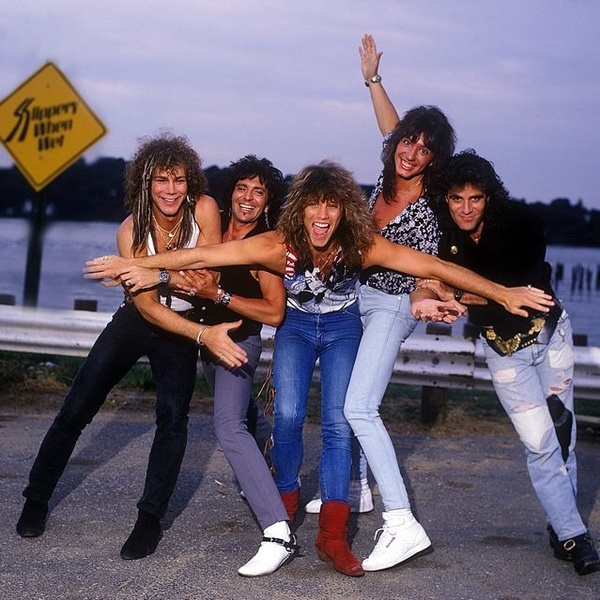 Bon Jovi, Slippery When Wet Tour 1987 ~ First concert I went to (9th grade) Cinderella was the opening act, and tickets were only $20!