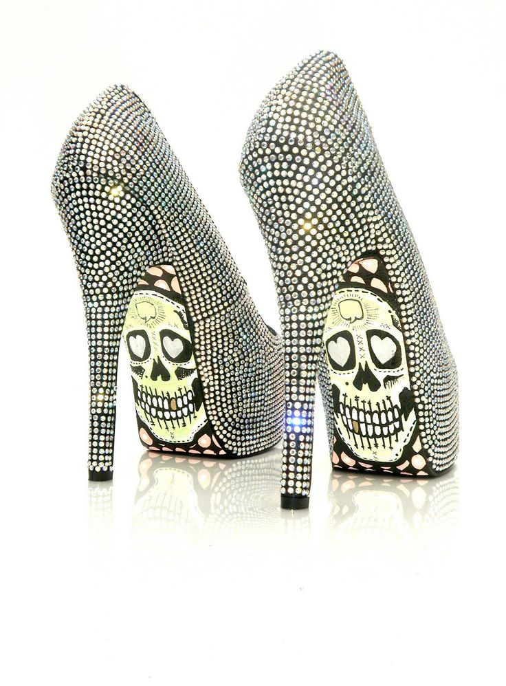 (a favourite gothic punk shoes repin of VIP Fashion Australia )