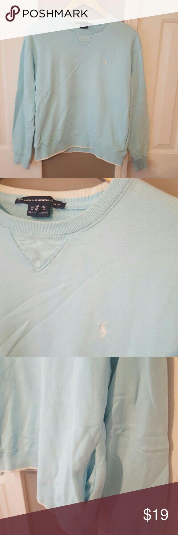 Ralph Lauren sweatshirt Baby blue Ralph Lauren sweatshirt with side zip pockets Ralph Lauren  Tops Sweatshirts & Hoodies