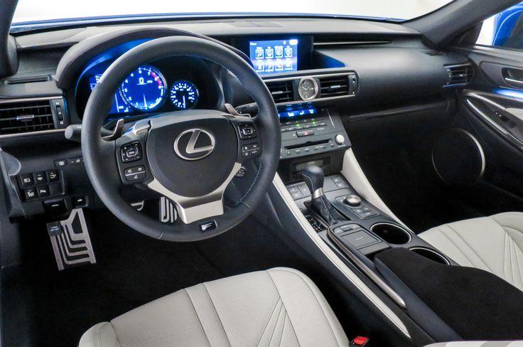 2016 Lexus Convertible RS F interior