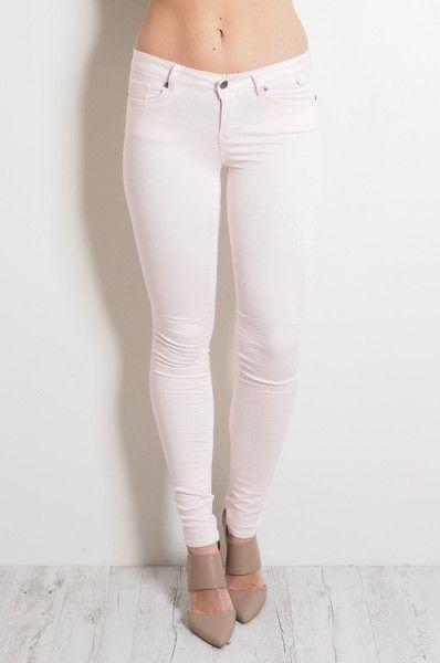 Low Waist Gelato Legs Rose Pink // REFUGE DENIM