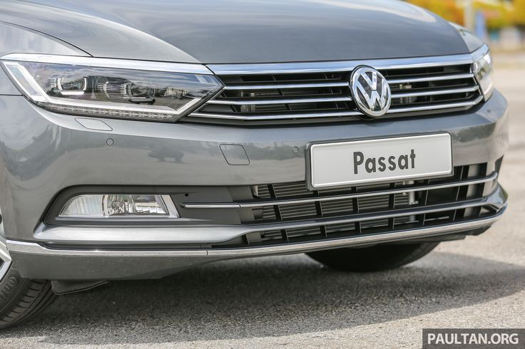 This is it, the B8 Volkswagen Passat in Malaysia, in its full glory. Set to be officially launched later this month, the latest D-segment sedan from Wolfsb