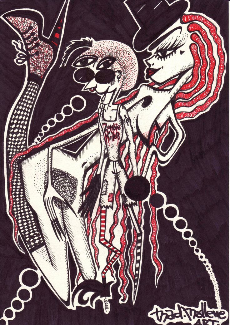 Freak show by Mad.Madlene Art