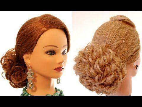Легкая прическа на длинные и средние волосы. Hairstyle for long medium hair - YouTube
