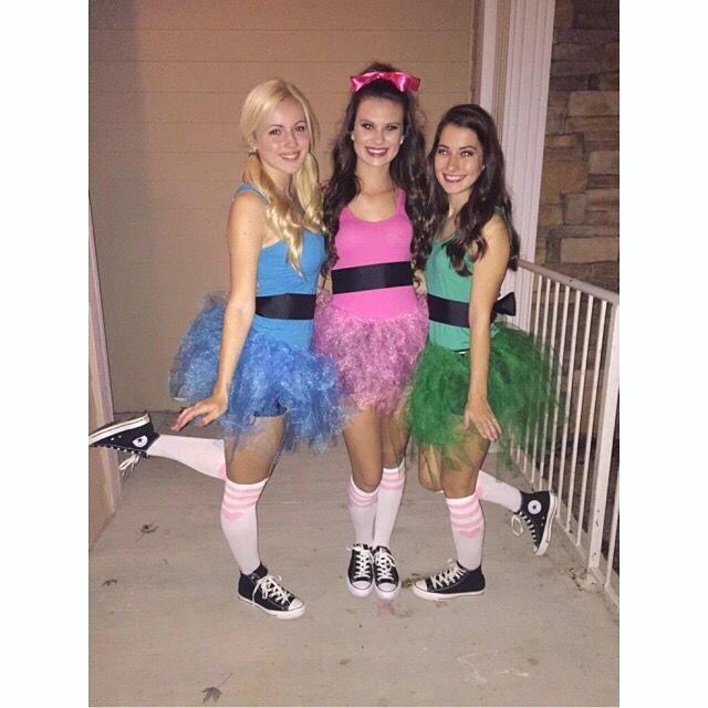 2015- my first Halloween in college!! ••••• || Halloween costume ideas • PowerPuff Girls • college Halloween • cute DIY costumes ||