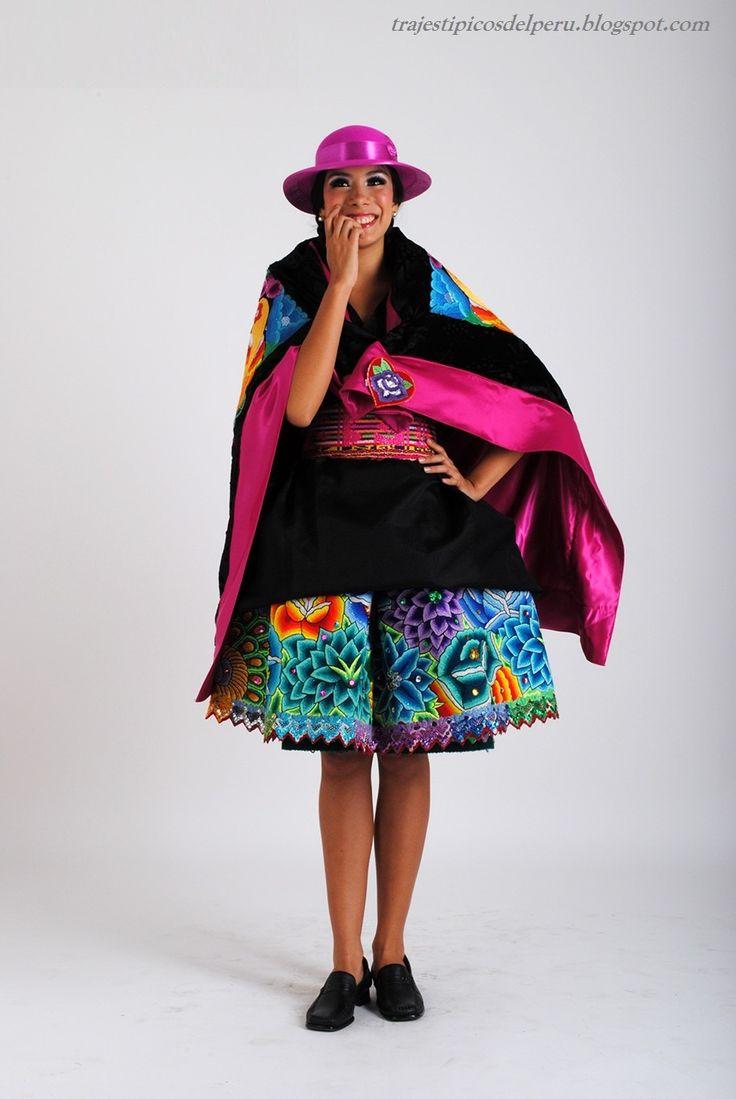 Huaylas TRAJES TIPICOS DEL PERU Traditional Peruvian Dresses: Trajes de la Sierra
