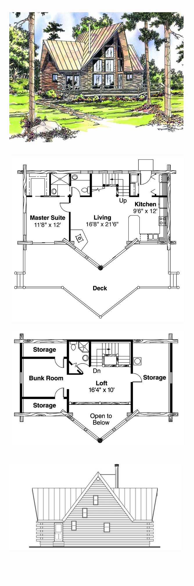 380 best house plans images on pinterest small houses cabin