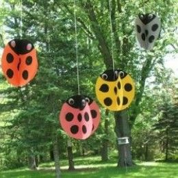 Lady Bug Crafts Ideas By Loraine Brummer
