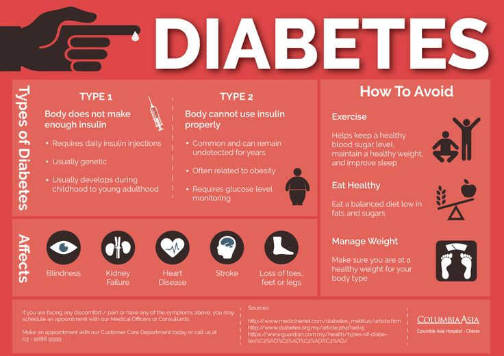 How much do you know about Diabetes? The main symptoms of diabetes are weight loss, extreme thirst and going to the toilet especially at night, extreme tiredness, blurred vision and genital itching.  If you are experiencing a couple or more of these symptoms, make an appointment to see a doctor and have yourself tested. #CAHCheras #diabetes  Find out more about us : www.columbiaasia.com/cheras