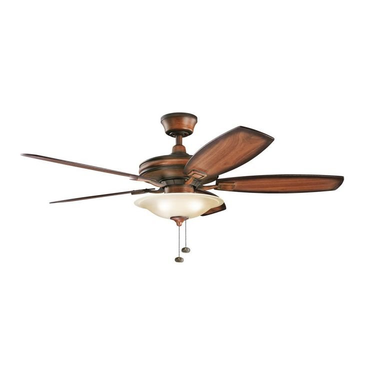 The rokr from kichler is a great transitional ceiling fan that would go well with so
