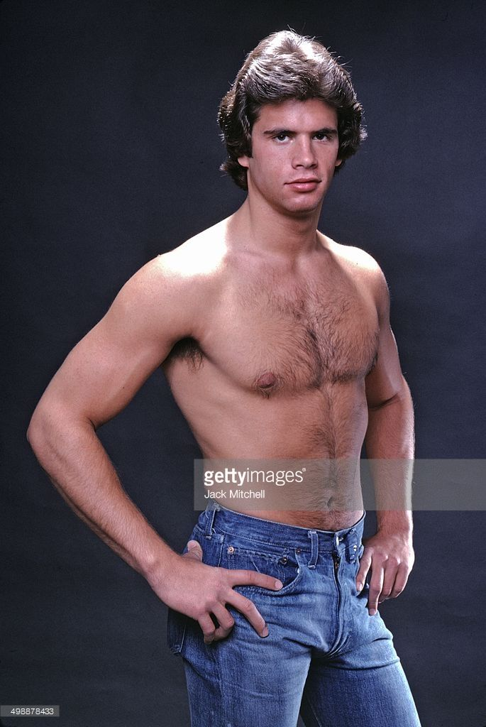 Portrait of 21-year-old American actor Lorenzo Lamas, 1979.
