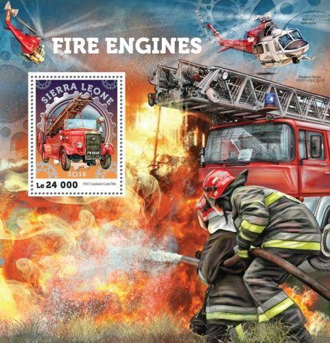SRL16401b Fire engines (1937 Leyland Cub FK6)