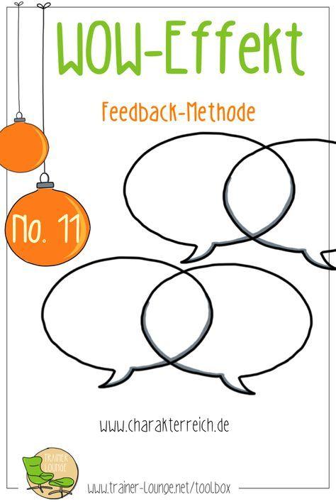 """Der """"WOW-Effekt"""" Feedback für das Ende eines Trainings! Auch wenn die Woche erst beginnt, haben wir heute eine schöne Abschlussmethode für dich ☺️ Mit Türchen Nummer 11 kannst du deine Trainings nämlich in einer guten Stimmung abschließen! Das gelingt dir ganz einfach mit dieser Feedback-Methode, bei der über die positive Umformulierung von """"Schwächen"""" neue Handlungsspielräume angedacht werden. #trainerloungegoodie #Adventskalender"""