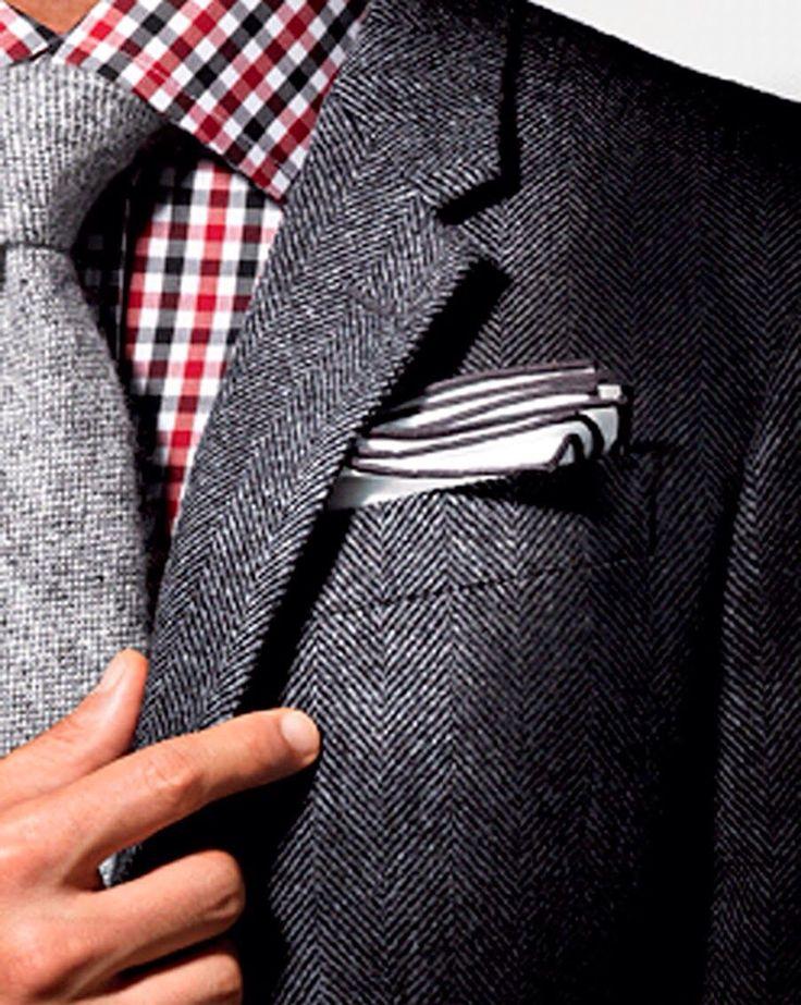 Tweed texture.