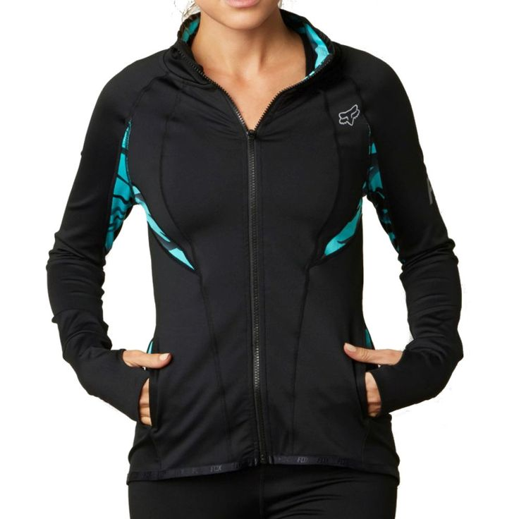 Fox Racing Vicious Women's Active Athletic Tech Ladies Outerwear Track Jacket