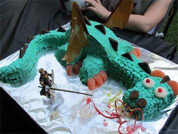 Dragon Cake, Knight Party – Part2 | Averyboo Arts